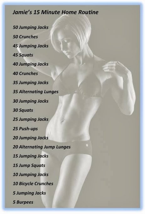Jamie Eason's 15 Minute Home Workout Routine